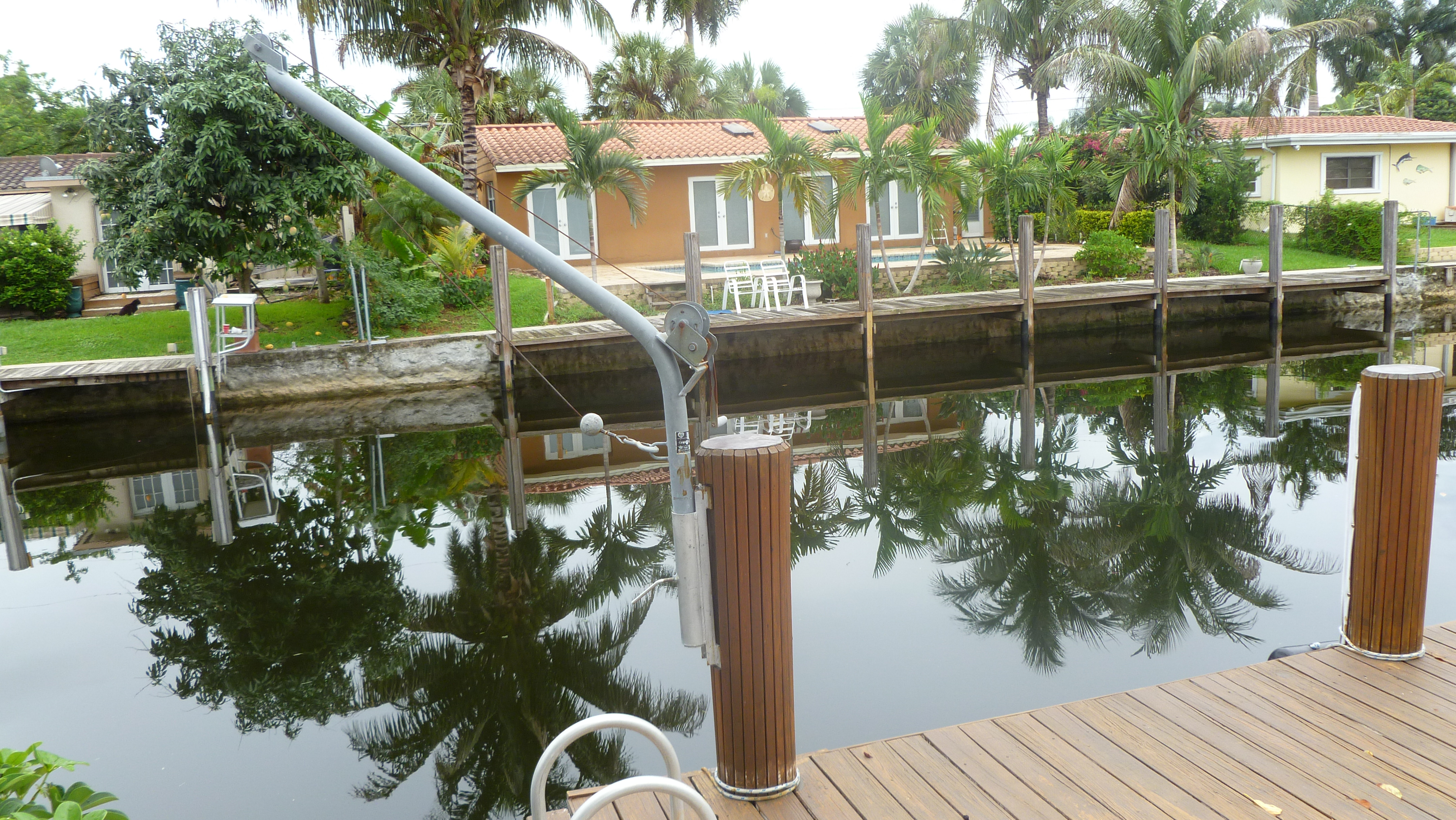 Dock for rent, Fort Lauderdale, no fixed bridge